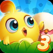 Chicken Splash 3-A Free Match 3 Puzzle Game