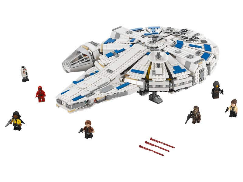 Contenido de Lego® 75212 Halcón Milenario del Corredor de Kessel
