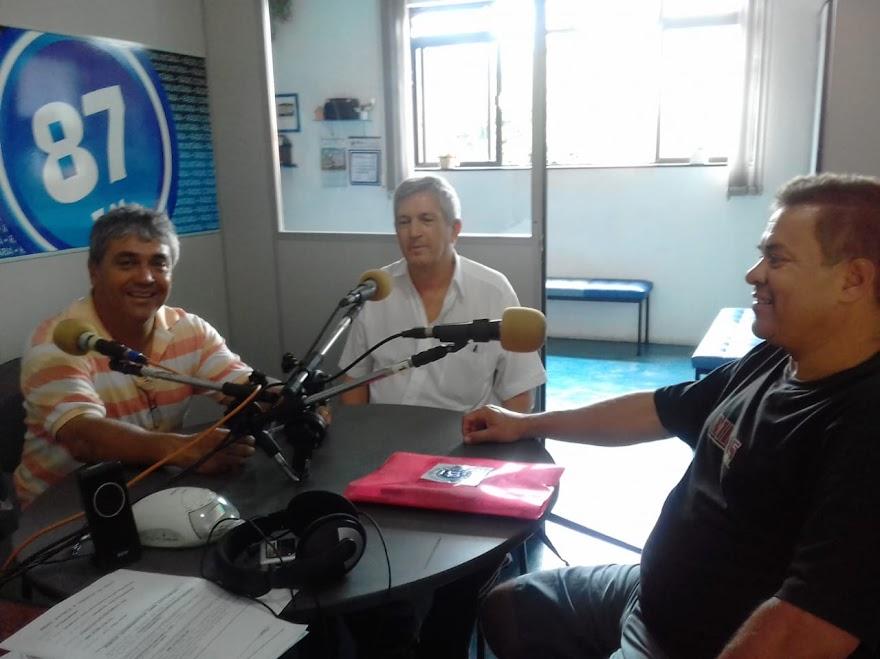 Donacio Silva, Jota Araújo e Sergio Borges