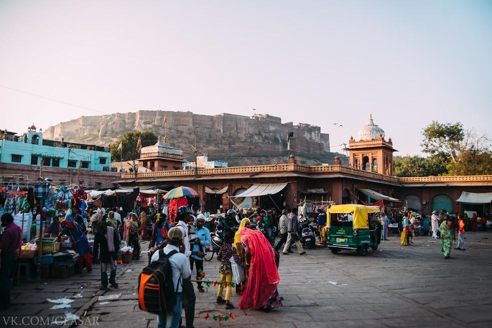 "Площадь ""Клок тауэр"", Джодхпур"