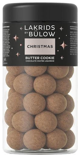 Christmas butter cookie 2020 - sötlakrits med karamelliserad vit choklad och krispig smörkaramel – Lakrids by Bülow