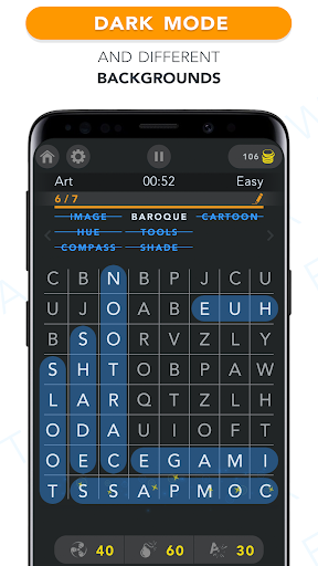 WordFind - Word Search Game apkpoly screenshots 5