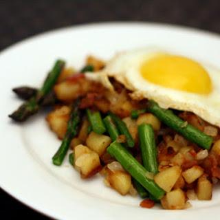 Spring Asparagus and Bacon Hash Recipe