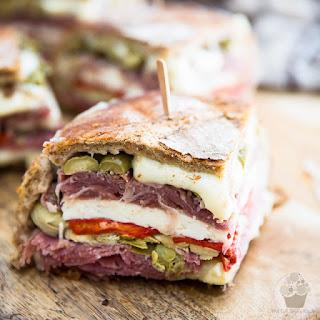 Muffuletta – aka – Antipasti Sandwich.