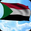 3D Sudan Flag Wallpaper Free icon