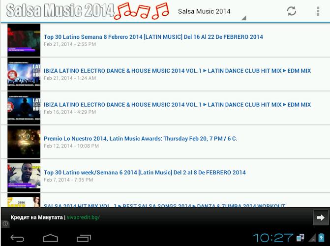 Salsa Music 2014 APK 1 0