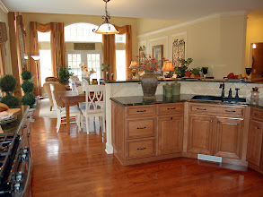 Photo: The kitchen, overlooking the great room in our MULBERRY model home at Southwick Meadows in Clifton Park, New York