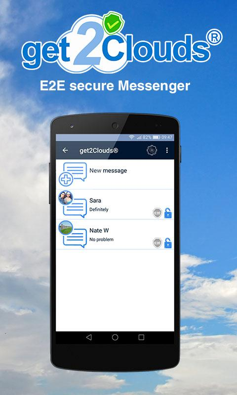 get2clouds Encrypt share chat- screenshot