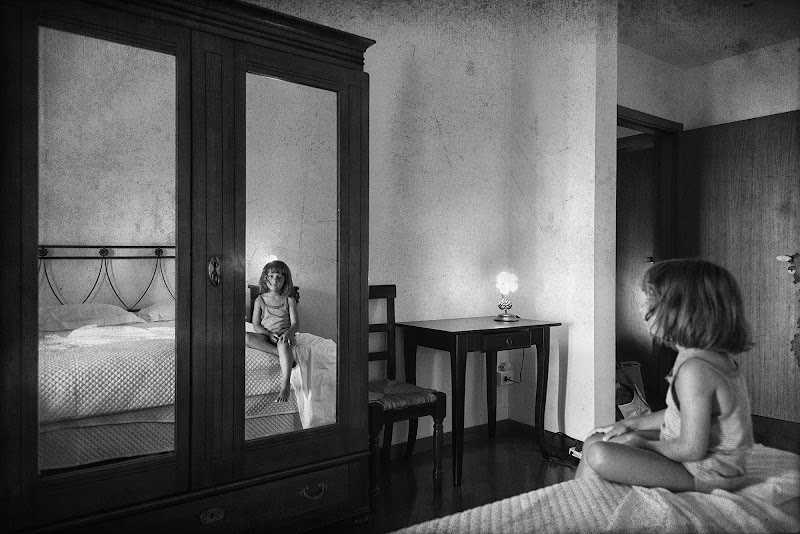 Nello specchio di Domenico Cippitelli
