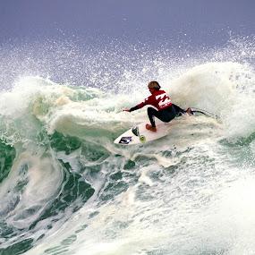 Wild Wave by Gavin Falck - Sports & Fitness Surfing ( watersport, surfing, wave, sport, ocean, gavin falck )
