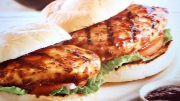 Grilled Montreal Chicken Sandwich