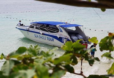 Private 4 Island Speed Boat Tour by Sea Eagle from Krabi mainland