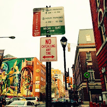Photo: 4.16.15 Pussy Division street sign in Philadelphia, PA, USA
