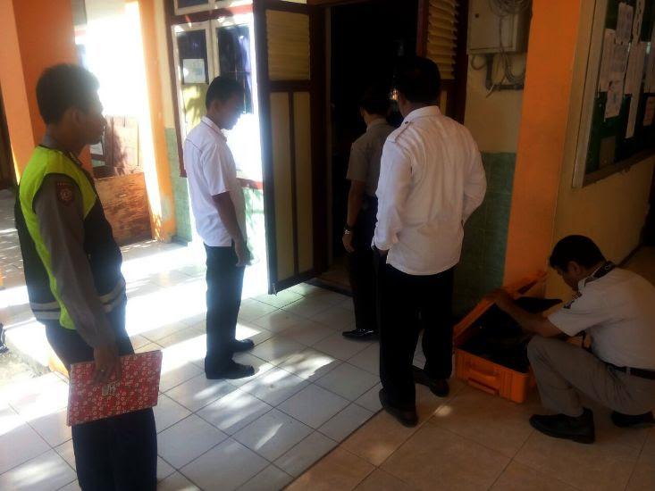 Pencurian di SMKN I geneng Ngawi