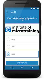 Microtraining mobile learning - náhled