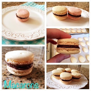 French Macarons with Chocolate Ganache