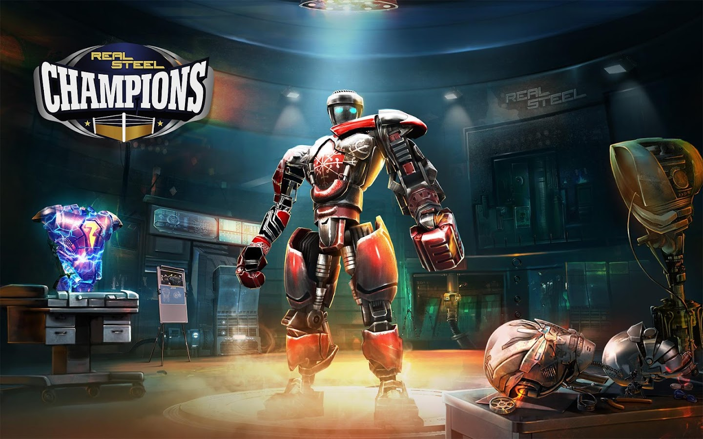 Real Steel Boxing Champions- screenshot