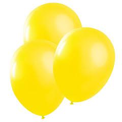 Gula ballonger, 25 st
