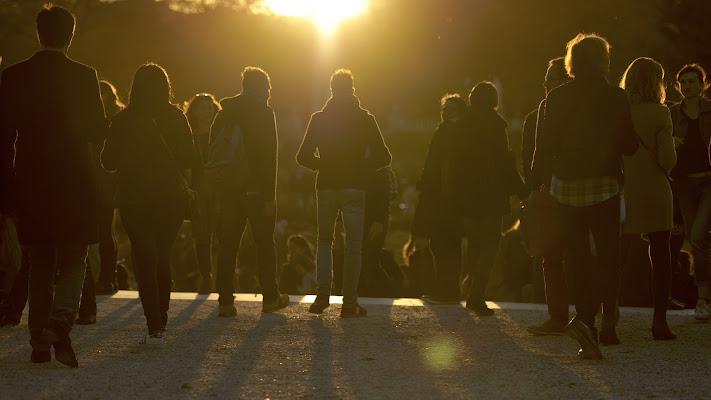 tramonto sul parco di Egidio