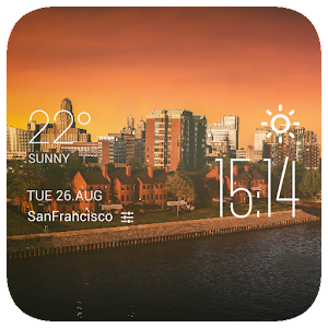 Tải Buffalo weather widget/clock APK
