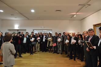 """Photo: Inauguração da exposição de arte partilhada """"Pintura Naturalista na Coleção Millenium BCP"""""""