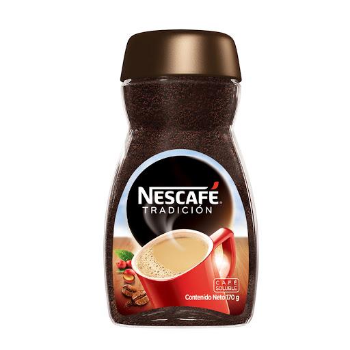 cafe instantaneo nescafe tradicion vidrio 170 gr