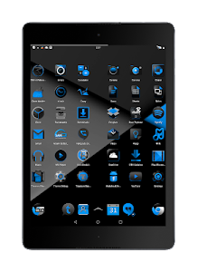 Blak Azurro  CM12-13 Theme screenshot 9