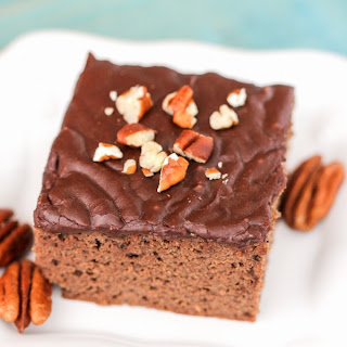 Healthy Texas Sheet Cake