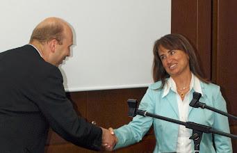 Photo: Green Ventures 2008;   Torsten thanking Dr Binhan Oguz, Turkey - photo miltoncontact.com / miltoncontact.co.uk