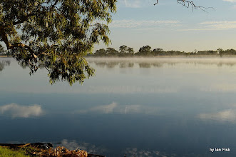 Photo: The lake looked great early Monday morning