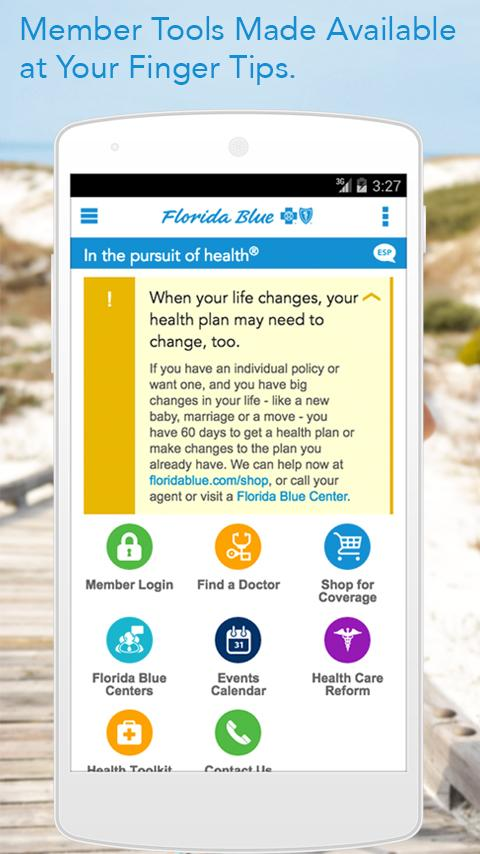 Florida Blue- screenshot