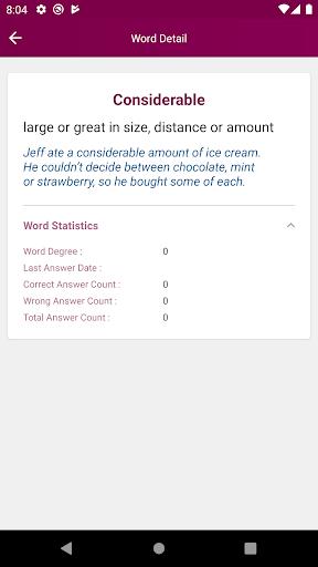 TOEFL Word Memorizer screenshot 5