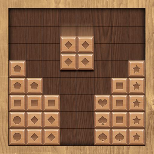 Wood Block Match Icon