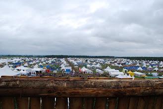 Photo: Pohled na asi 1/10 tábořiště