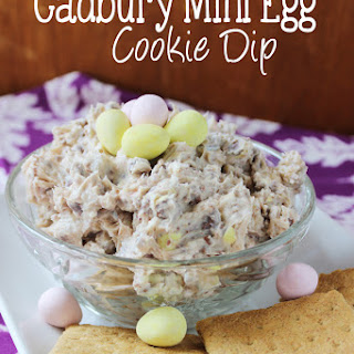 Cadbury Mini Egg Cookie Dip for Easter