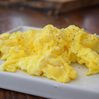 Perfect Buttery Scrambled Eggs.