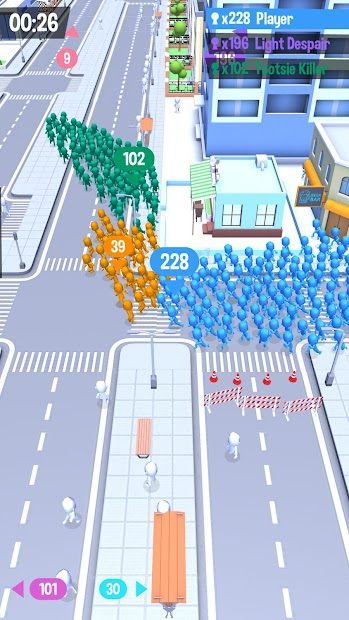 Crowd City Android App Screenshot