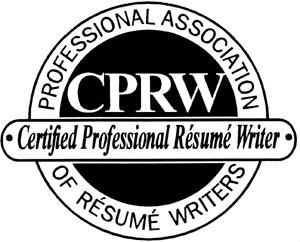 professional resume writer logo