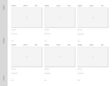 Simple Story Board - Storyboard template