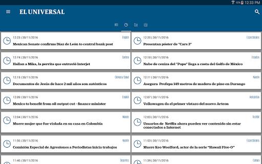 El Universal 3.2.4 screenshots 8