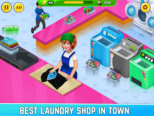Laundry Service Dirty Clothes Washing Game 1.11 screenshots 3