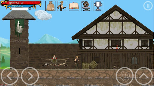 RPG platformer - Gothic: ArnaLLiA android2mod screenshots 1