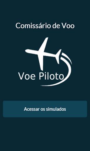 Simulado Comissário:Voe Piloto