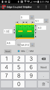 Intercept Impedance Calculator- screenshot thumbnail