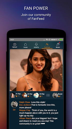 Disha Patani Official App for PC