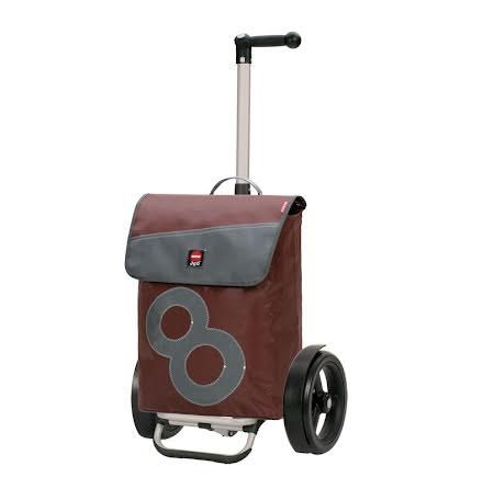 Andersen Tura Shopper Aluminium 360 Boje med 29cm kullagrade hjul