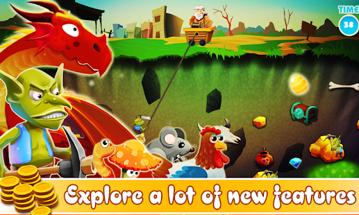 Game Gold Miner - Mine Quest APK for Windows Phone