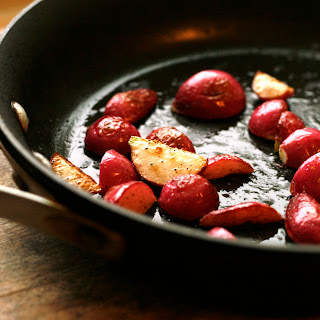 Simple Sauteed Radishes for Salads Recipe