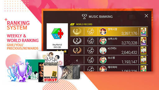 SuperStar SMTOWN 2.4.5 Screenshots 3
