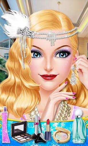 復古時尚風- 少女換裝化妝游戲